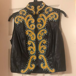 Rodeo queen vest
